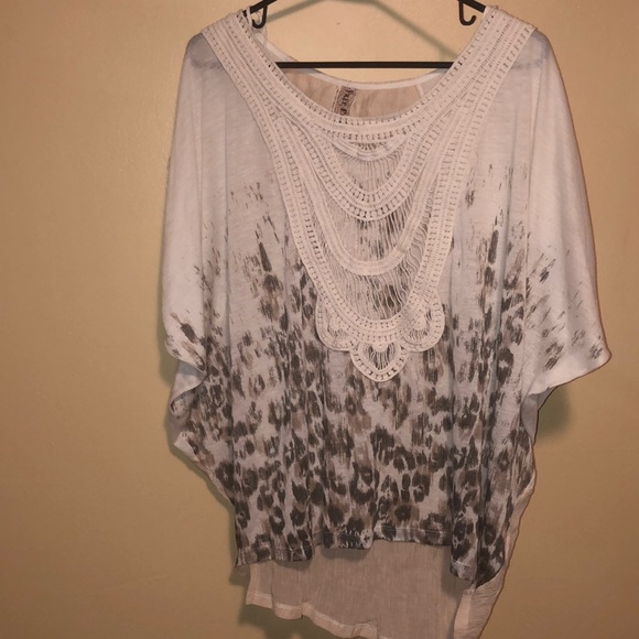 Free people boho bohemian blouse
